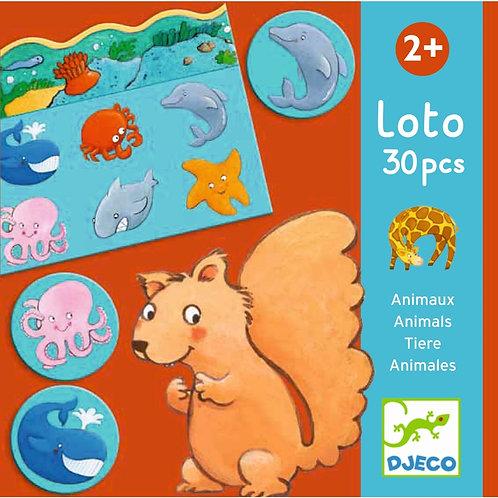 """Lotto """"Tiere"""" von Djeco"""