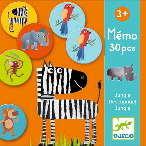 """Memo """"Dschungel"""" von Djeco"""