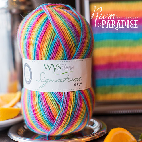 Signature 4 Ply Cocktail Collection von West Yorkshire Spinners