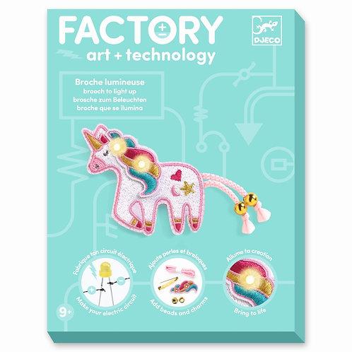 Factory: Brosche Süßes Einhorn von Djeco