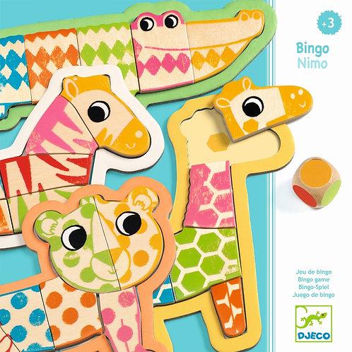 Kleinkind Lernspielzeug: Bingonimo von Djeco
