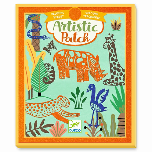 "Artistic Patch ""Tiere"" von Djeco"