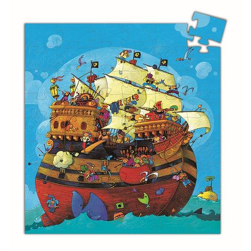 "Formen Puzzle ""Barbarossas Boot"" von Djeco"