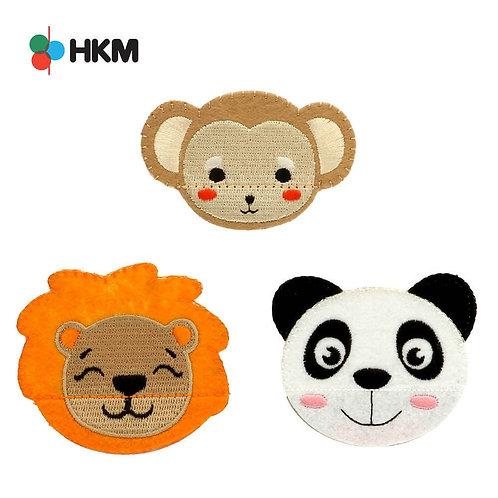 Applikation Tiere mit Klappmund von HKM