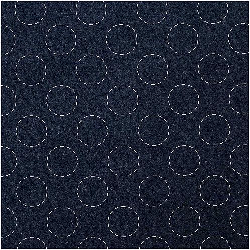 Baumwolle Kreise von Rico Design 140cm