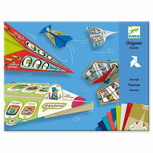 Origami Flugzeuge von Djeco