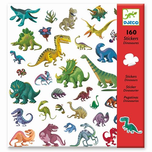"""Aufkleber """"Dinosaurier"""" von Djeco"""