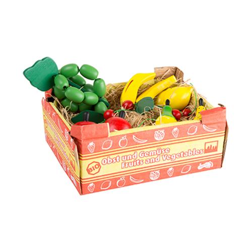 Stiege mit Obst aus Holz von Small Foot
