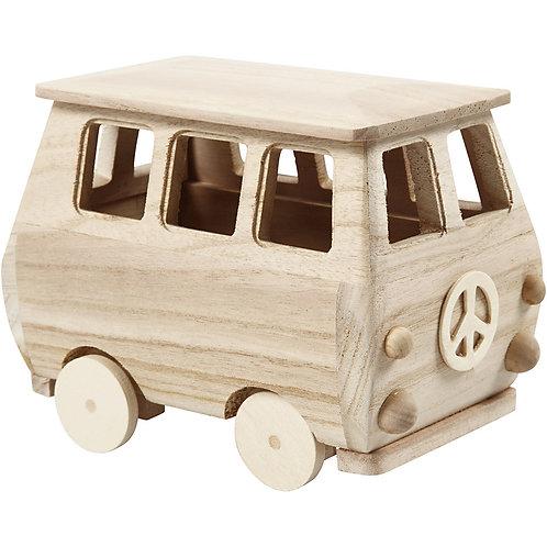 Minibus aus Holz