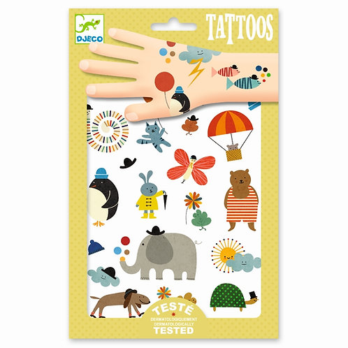 "Tattoos ""Pretty Little Things"" von Djeco"