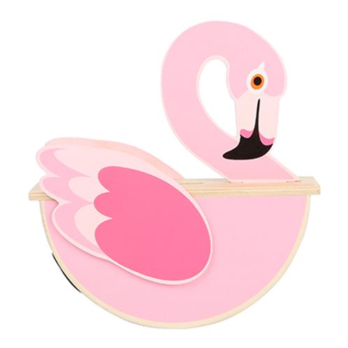 Spardose Flamingo aus Holz von Small Foot