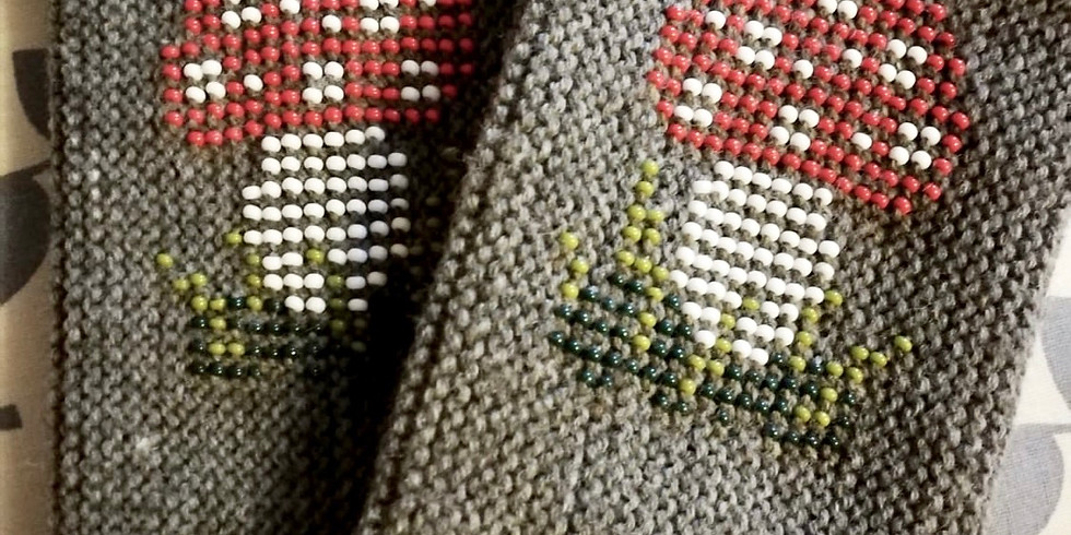Handstulpen stricken mit eingestrickten Perlen (Aufbaukurs)