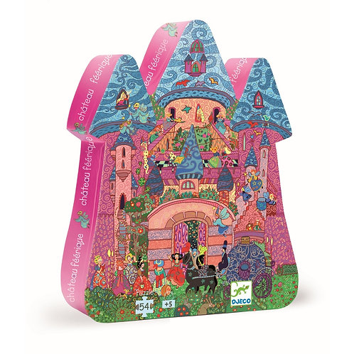 "Formen Puzzle ""The Fairy Castle"" von Djeco"