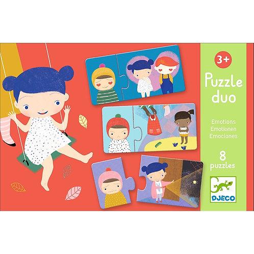 Lernspiel Puzzle duo: Emotions von Djeco