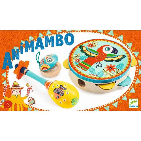 Animambo Set mit 3 Instrumenten von Djeco