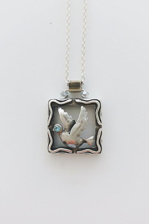 Sterling Silver Dove