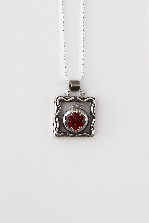 Sterling Silver Pomegranate