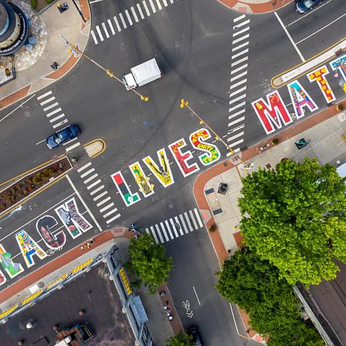 BLM Stamford Street Mural