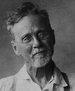 A. T. Still, fondateur de l'ostéopathie.