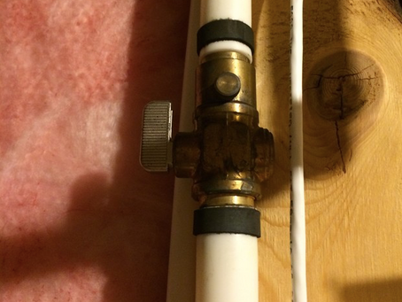 Turn Off Outside Taps for Winter