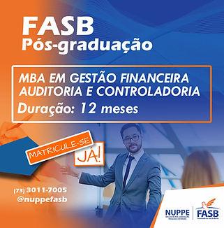 MBA EM GESTÃO FINANCEIRA AUDITORIA E CON