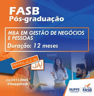 MBA EM GESTÃO DE NEGÓCIOS E PESSOAS Fina