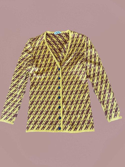 Hermès Monogram Cardigan