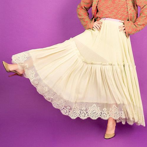 Lanvin Pleated Skirt