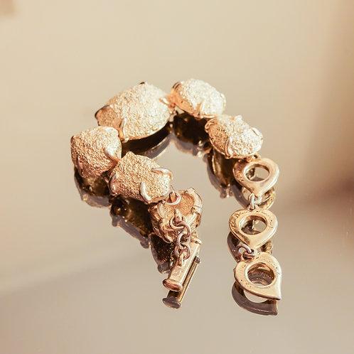Yves Saint Laurent Link Bracelet (Gold)