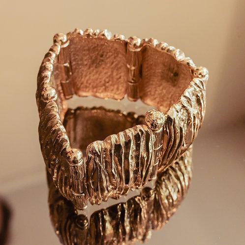 Scherrer Hinged Bracelet (Gold)