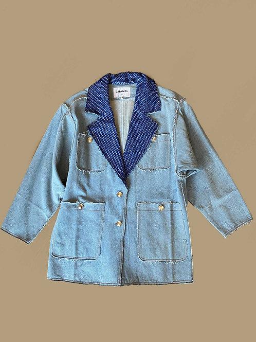 Chanel oversize Denim Jacket