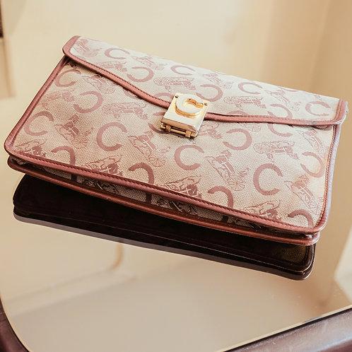 Céline Monogram Wallet (Brown)
