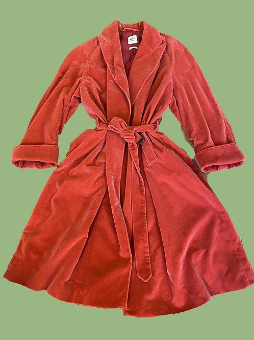Hermès Trench Silk Velvet coat