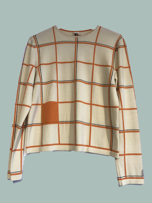 Hermès Wool and Silk Pullover