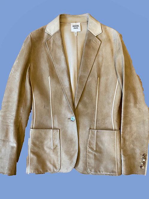 Hermès Lambskin Jacket