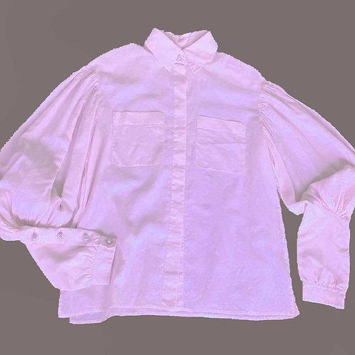 Chanel Sheer Pink Shirt