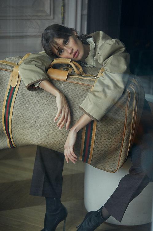 Gucci Monogram Travel Bag