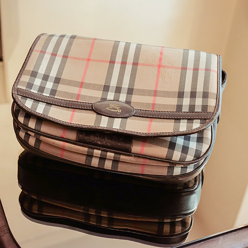 Burberry Crossbody Bag (Classic Plaid)
