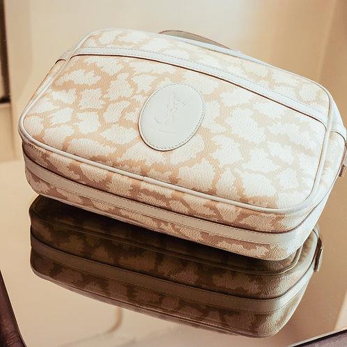 Yves Saint Laurent Crossbody Bag (Beige)