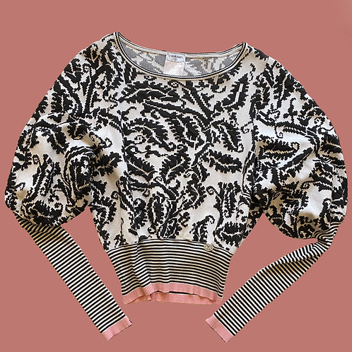 Chanel  Printed Pullover