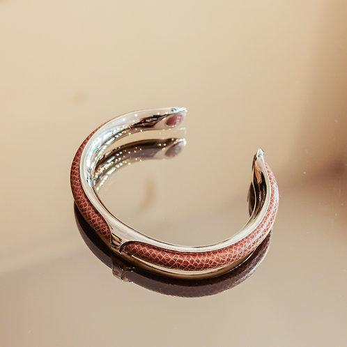 Hermès Bracelet (Brown/Silver)