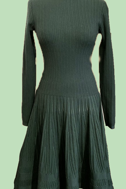Alaïa Wool Midi Dress