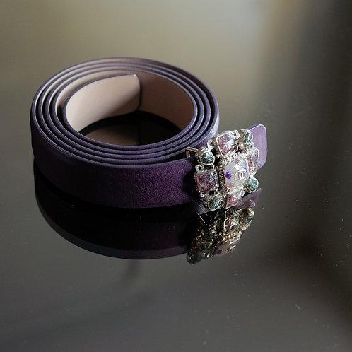 Chanel Purple Belt