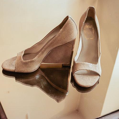 Christian Dior Wedge Heels (Size 37 FR)