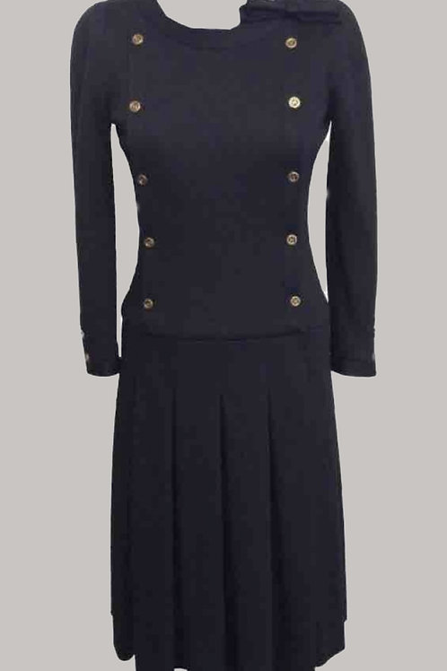 Chanel Wool Midi Dress