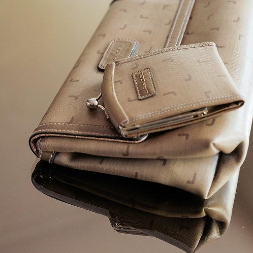 Lancel Bag and Wallet Set