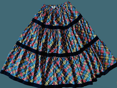 Yves Saint Laurent Multicolor Skirt