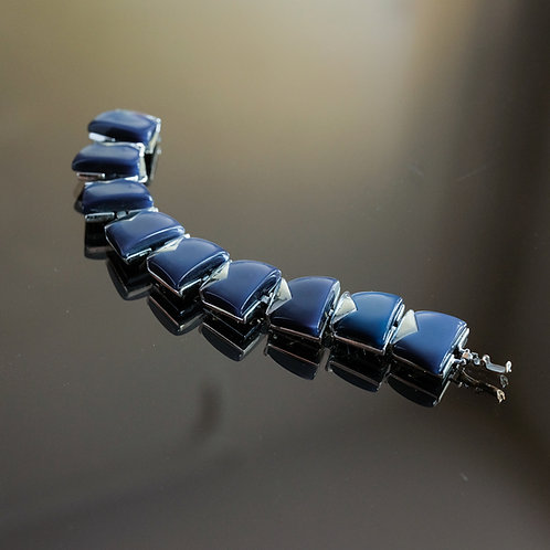 Purple bakélite Bracelet