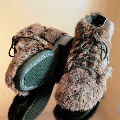 Chanel Fur Boots