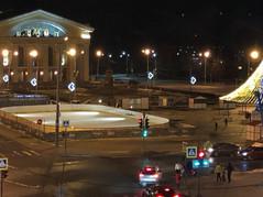 Каток на площади Кирова в Петрозаводске начал работать в тестовом режиме